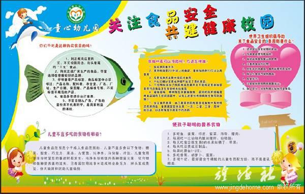 童心幼儿园开展食品卫生安全教育宣传活动